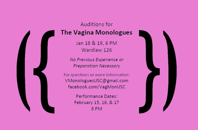 The Vagina Monologues at USC, 2013 Style